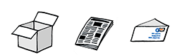 Noviny, časopisy, reklamní letáky, kartony, sešity, papírové obaly, krabice, balící papír, lepenka, kancelářský papír